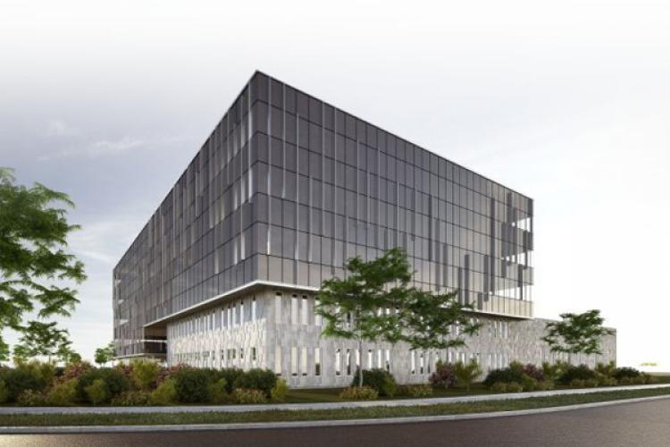 Broccolini Corporate Center breaks ground in Montreal's Technoparc