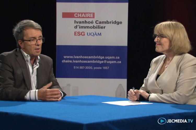 Innovations et modèles d'affaires en immobilier : Andrée De Serres rencontre Roger Plamondon