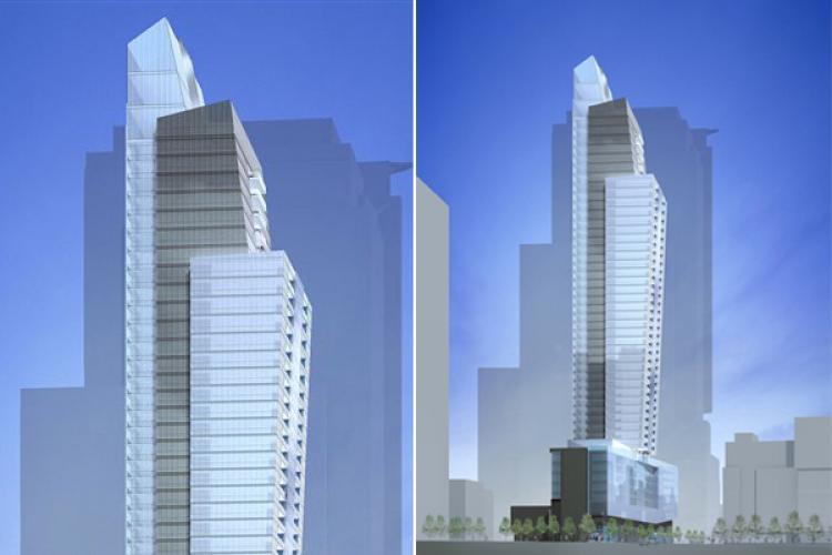 Une tour d'habitation de 50 étages à Montréal