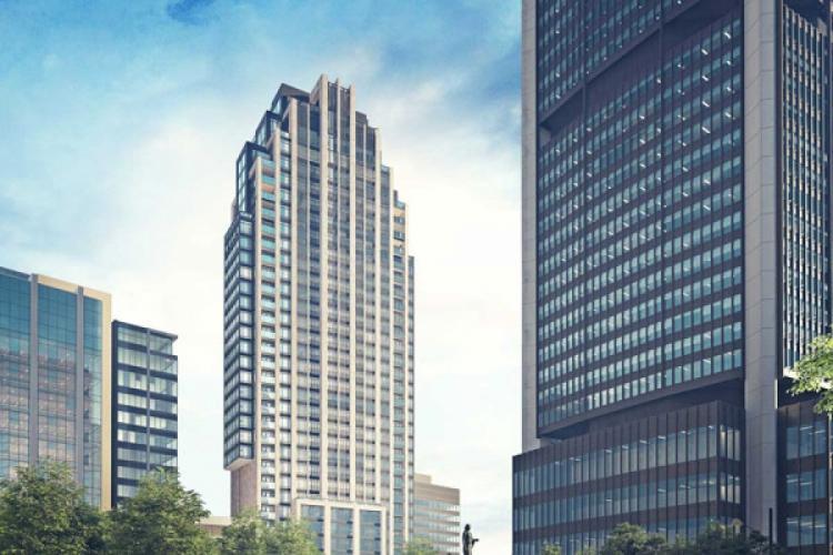Un immense projet immobilier de luxe en plein coeur de Montréal