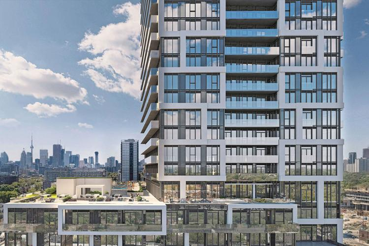 ​Broccolini lays roots in Toronto's emerging 'Downtown East' with River & Fifth