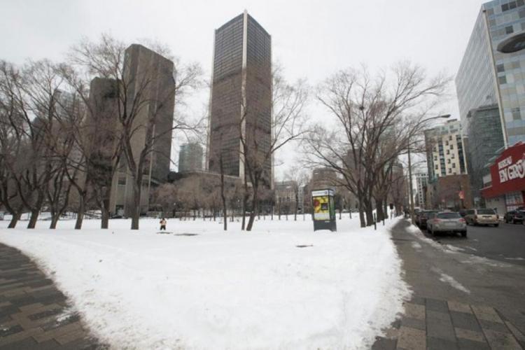 Un terrain vendu 100 millions au centre-ville de Montréal