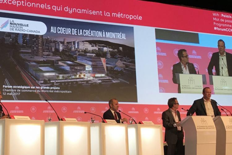 La nouvelle MRC présentée au Forum stratégique sur les grands projets de la CCMM